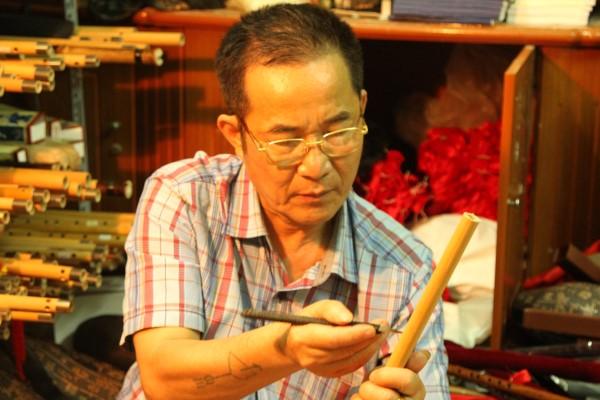 Nghệ nhân Nguyễn Khang một đời thổi hồn vào sáo trúc
