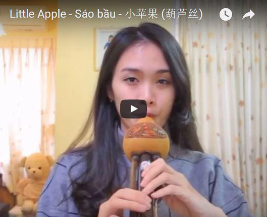 Little Apple - Sáo bầu - 小苹果